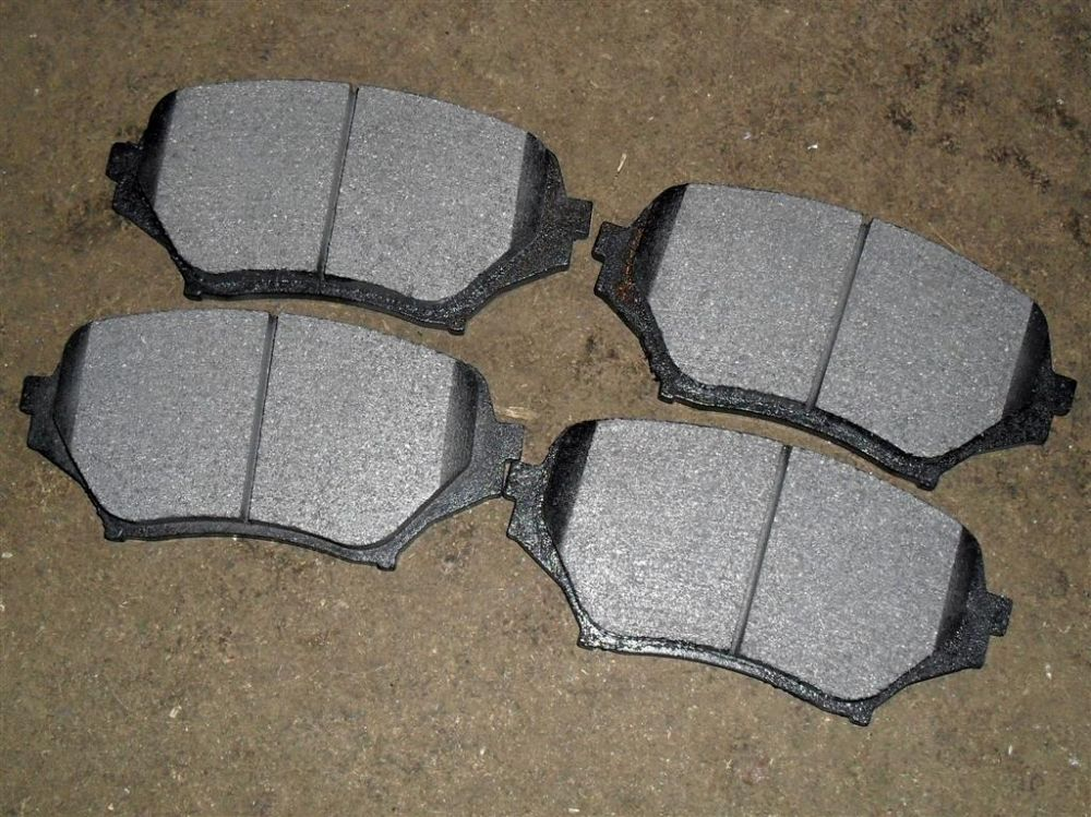 Brake pads, Mazda MX-5 mk3 NC, 1.8 & 2.0, 2005-14, front, for 290mm discs